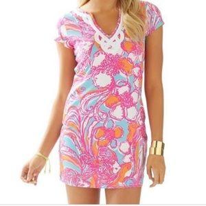 Lilly Pulitzer Brewster T Shirt Cotton Dress